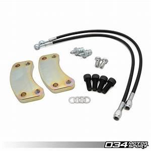 Caliper Bracket, Rear B5 300mmx22mm Brake Rotor Upgrade - 034-306-0001 - 034Motorsport