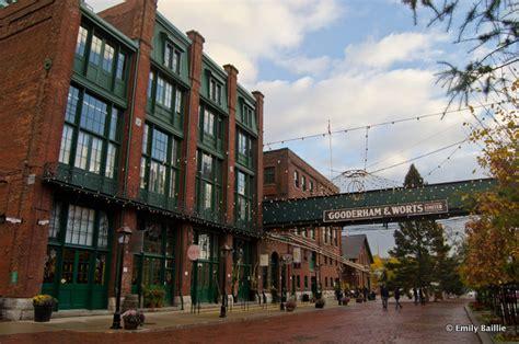 Toronto's Distillery District Mixes Victorian Architecture