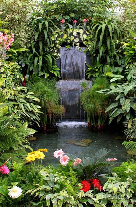 garden fountains and waterfalls 63 relaxing garden and backyard waterfalls digsdigs