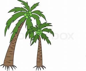 Coconut tree | Stock Vector | Colourbox