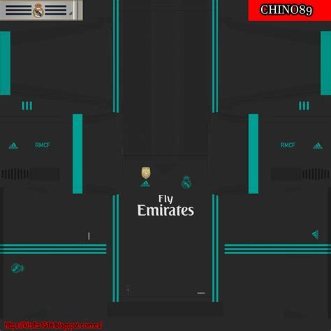 Kit real madrid pes 2018 ps3. Kits Soccer Games!: REAL MADRID Temp. 2017/2018 PES 2018