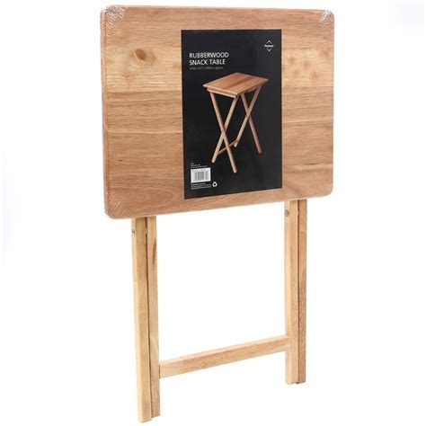 solid wood tv table easy solid wood folding tv laptop craft snack