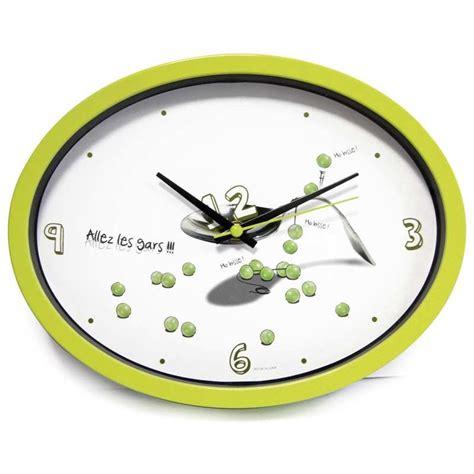 horloge cuisine originale horloge cuisine quot ludik quot verte