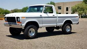 1979 F150 4wd V8 4x4 Short Bed A  C Rust Free Gorgeous Must