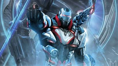 Endgame Avengers War Machine Suit 4k Wallpapers