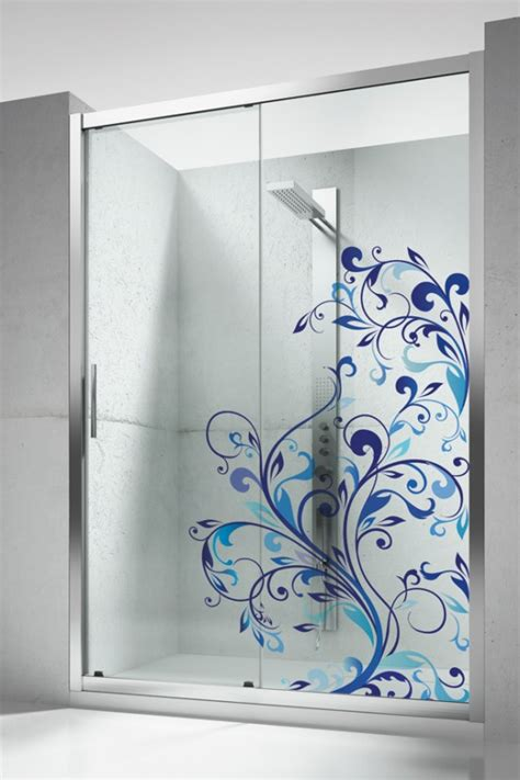 creative glass shower doors designs  bathrooms