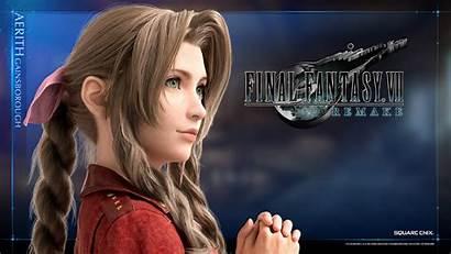 Aerith Remake Tifa Fantasy Final Vii Gainsborough