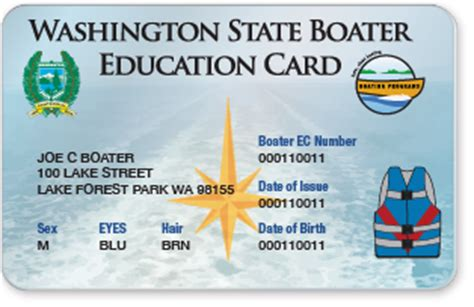 Boating License By State by Washington State Boater Education Card Replacements
