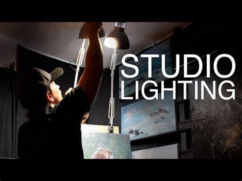 studio lighting   light  art studio   budget