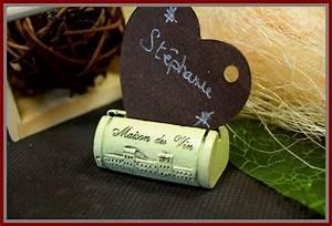 Marque Place Pas Cher : porte nom bouchon de vin ~ Melissatoandfro.com Idées de Décoration