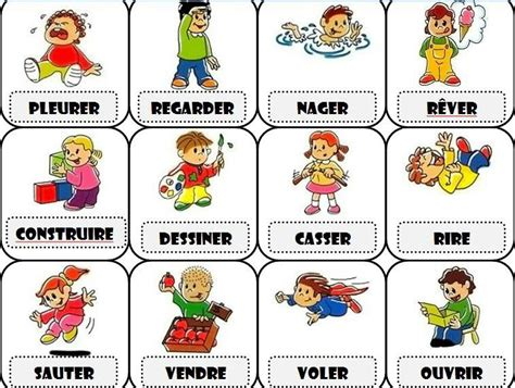 verbes french verbs french classroom teaching french