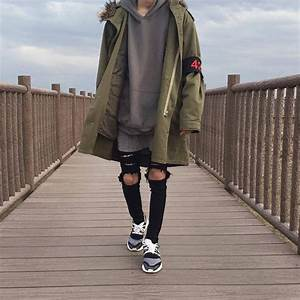 Jacket 424 menswear hoodie menswear oversized jacket sweater aesthetic urban harajuku ...
