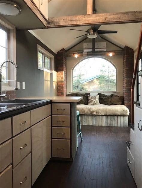 ft rustic elegance tiny house