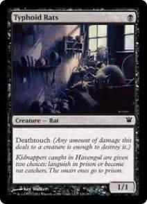 typhoid rats innistrad community gatherer magic