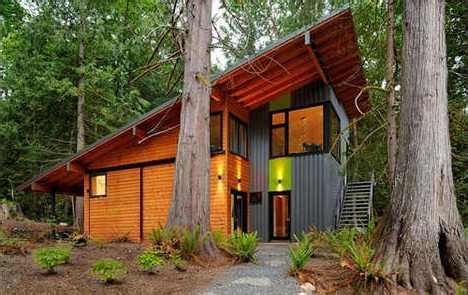Eco Friendly Homes And Cabins...small And Sustainable