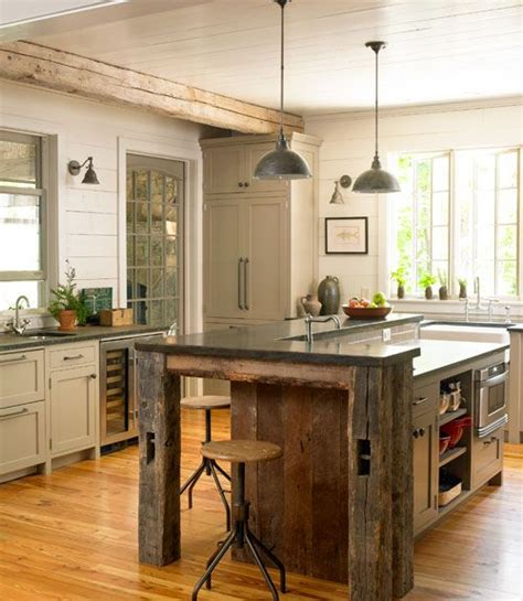 rustic kitchen islands 40 best images about barn wood furniture on 2058