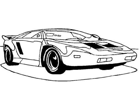 Kleurplaat Auto by Auto Kleurplaat 187 Animaatjes Nl