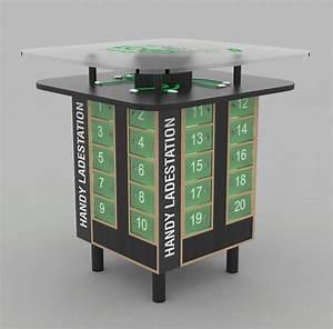 Mobile Ladestation Handy : handy ladestation festival chargomat ~ Markanthonyermac.com Haus und Dekorationen