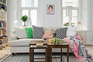 tapis et autres textiles pour un interieur cosy With tapis de sol avec coussin pour canape interieur