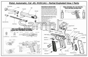 1911 Exploded Diagram