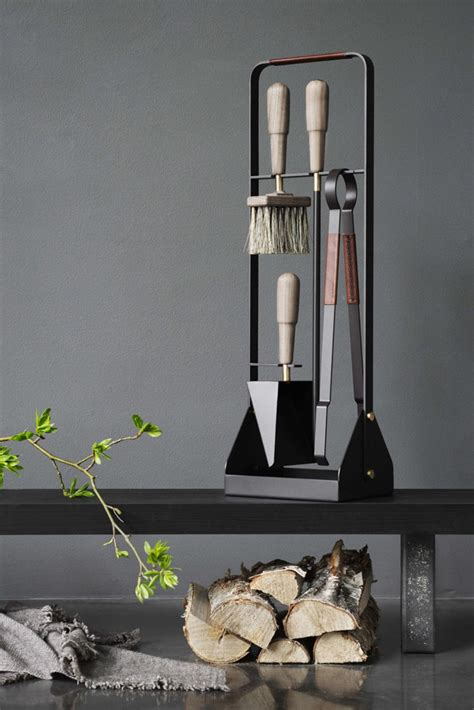 These new contemporary Scandinavian fireplace accessories ...