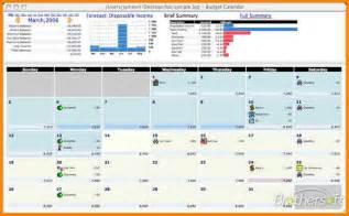 Budget Spreadsheet Template For Mac 11 Budget Calendar Template Monthly Bills Template