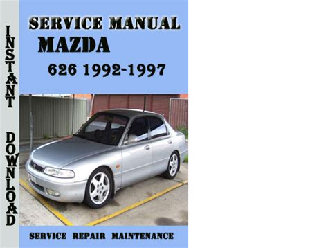 auto manual repair 1984 mazda 626 parking system mazda 626 1992 1997 service repair manual pdf download download m