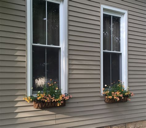 wrought iron country wire window boxes
