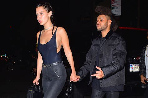 Who has the weeknd dated? The Weeknd and Girlfriend Bella Hadid Step Out in NYC   Rap-Up
