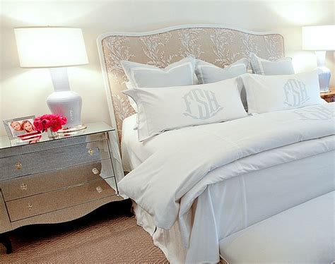 monogrammed shams slumber pinterest guest rooms tables  master bedrooms