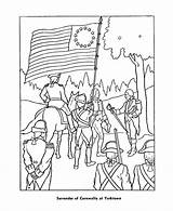 Coloring Pages War Revolutionary Veterans American Civil Revolution Sheets Paul History Yorktown Print Printable Revere Boston Colouring Flag Massacre Printables sketch template