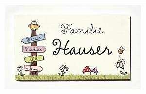 Türschild Familie Holz : t r namensschilder t rschild namensschild eule ~ Lizthompson.info Haus und Dekorationen