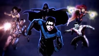 Titans Raven Dc Teen Comics Tv Dcuo