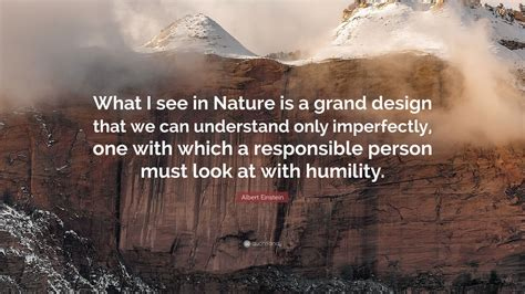 albert einstein quote     nature   grand