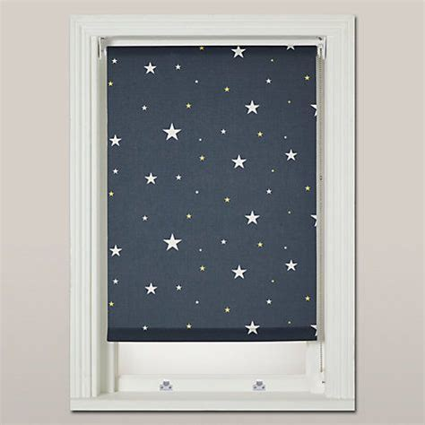 buy john lewis starry night blackout roller blind navy