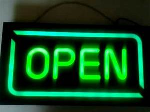 NEON Led OPEN SIGN Programmable