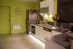 decoration peinture interieur maison couleur deco With peinture murale interieur maison