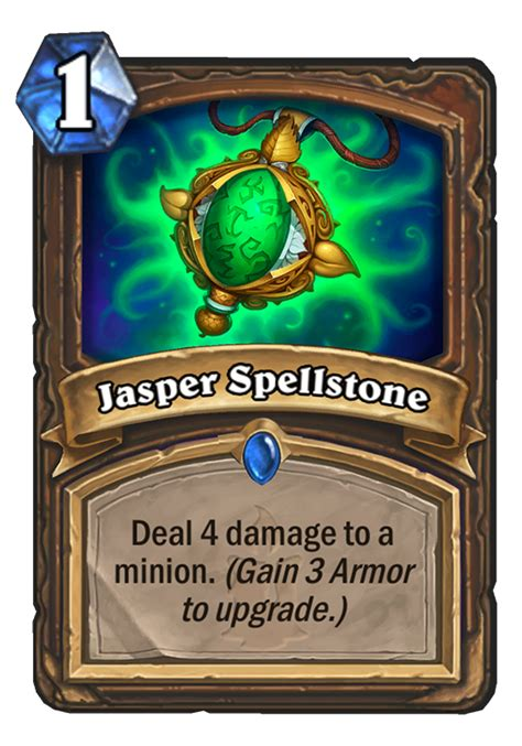Top Tier Decks Hearthstone by Jasper Spellstone Hearthstone Card