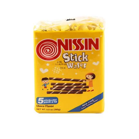 Nissin Biscuits monde nissin stick wafer chocolate 280g from buy asian food 4u