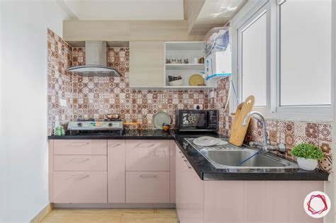 small kitchen design neutral kitchen light pink cabinets