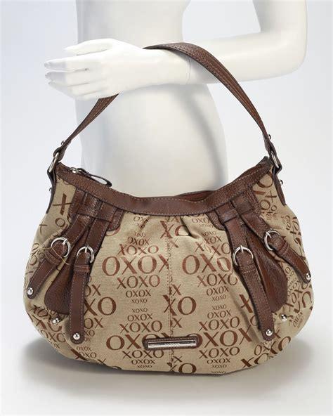 xoxo  getter jacquard handbag handbag purses xoxo