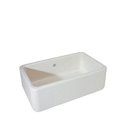 30 inch apron sink white rohl rc3018wh 30 inch by 18 inch by 10 inch shaws