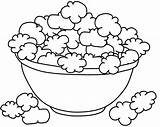 Popcorn Coloring Template Sheet Drawing Printable Sketch Kernel Colouring Sketches Az Popping Getdrawings Sketchite Draw Templates Azcoloring Fruits Vegetables sketch template