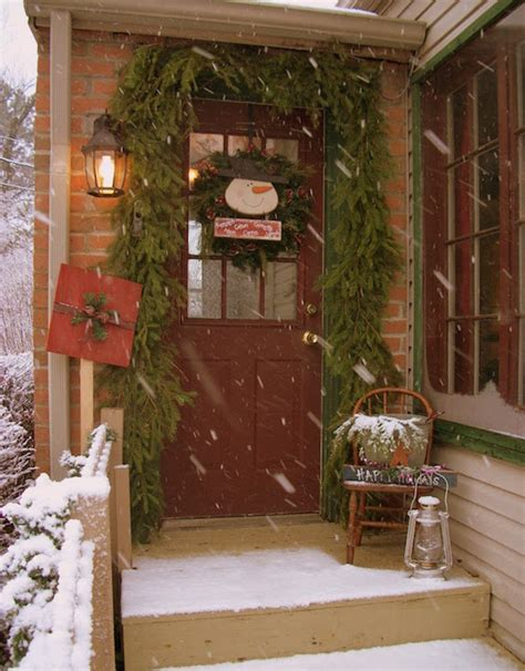 inspiring christmas front porch decorating ideas feed