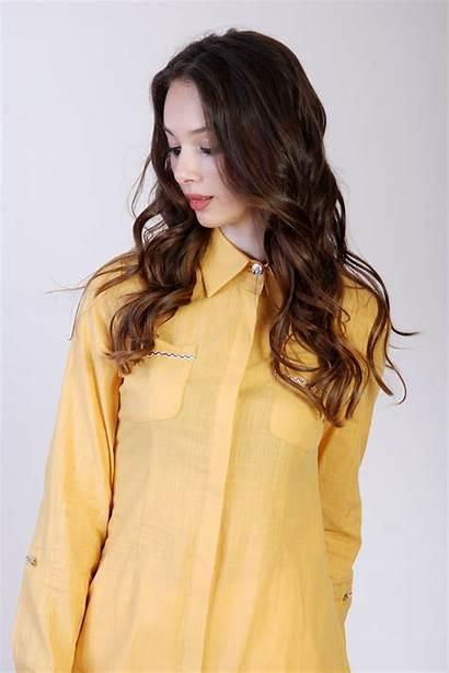Shirt Hair Woman Clothing Brown Young Blouse