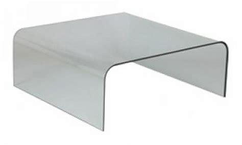 table basse carr 233 e en verre 104x104 cm quot cl 233 o quot