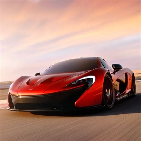 Red Mclaren P1 Ipad Wallpaper Download