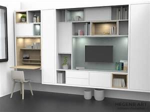 Design Meuble Bibliotheque Et Meuble Tv Pour Salon Avec