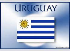 Tarjeta de la bandera de Uruguay, email , ecard