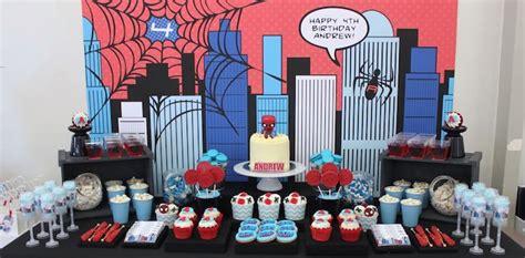 Kara's Party Ideas Amazing Spiderman Birthday Party